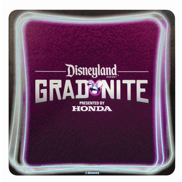 Grad Nite at Disneyland Sign.
