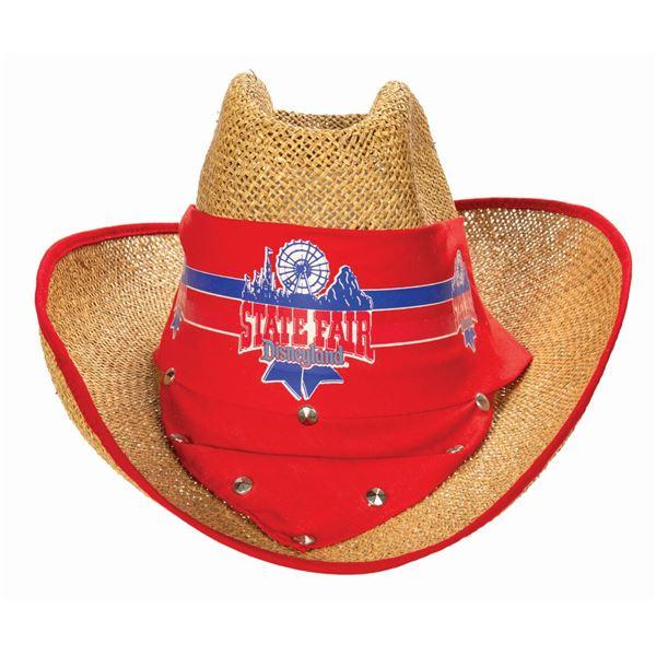"""Disneyland """"State Fair"""" Straw Hat."""