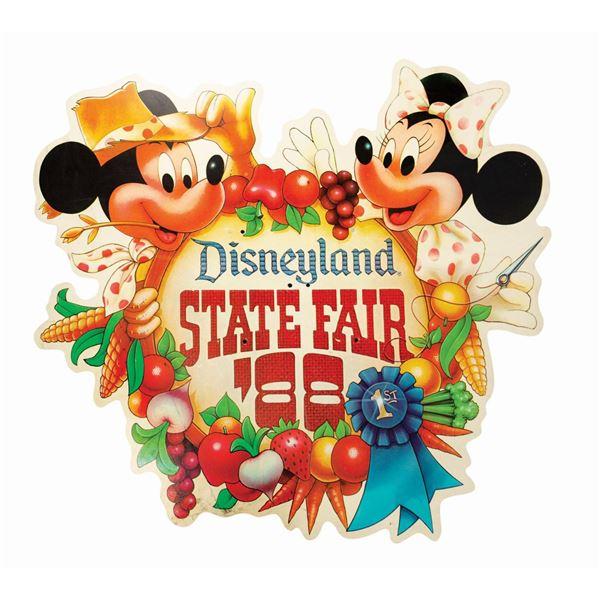 "Oversized ""State Fair"" Disneyland Sign."