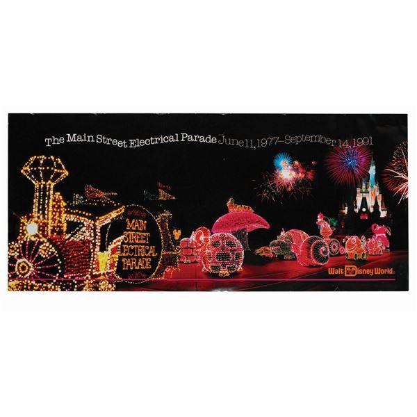 Main Street Electrical Parade Farewell Season Poster.