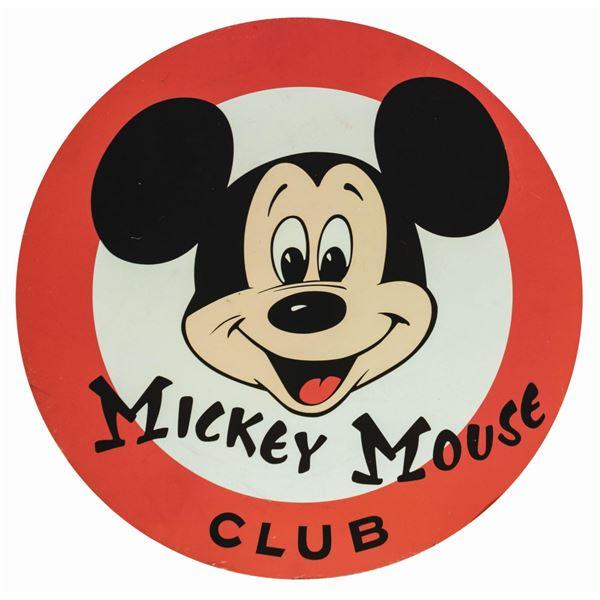 Disneyland Mickey Mouse Club Park Sign.