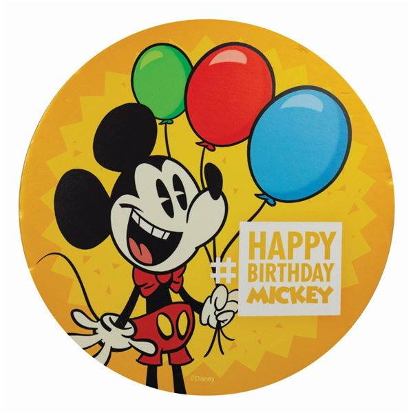 Happy Birthday Mickey 88th Birthday Sign.