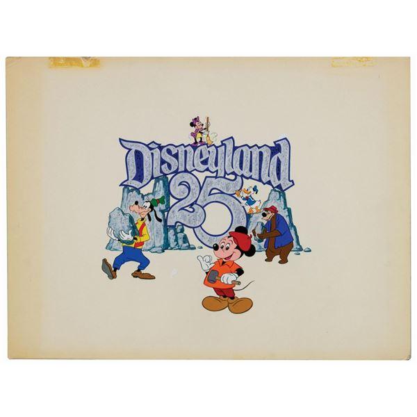 Original Disneyland 25th Anniversary Artwork.