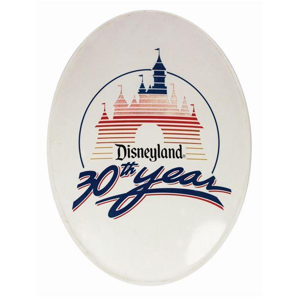 Disneyland 30th Anniversary Park Sign.