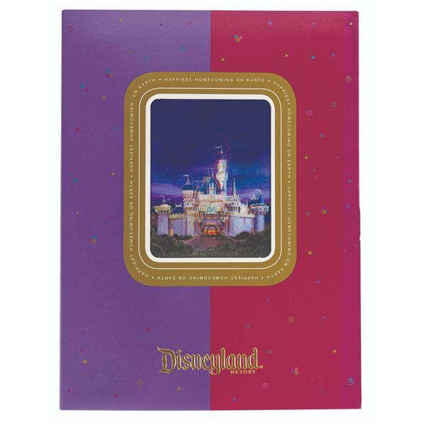 Disneyland 50th Anniversary Celebration Press Kit.