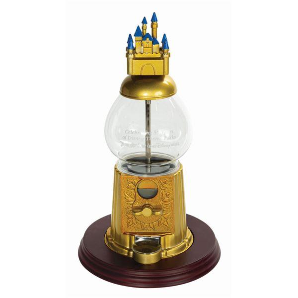 Disneyland 50th Anniversary Candy Dispenser Gift.