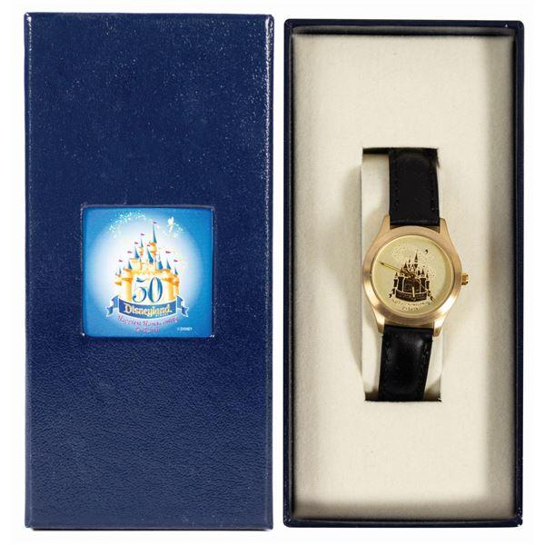 Disneyland 50th Anniversary Wristwatch.