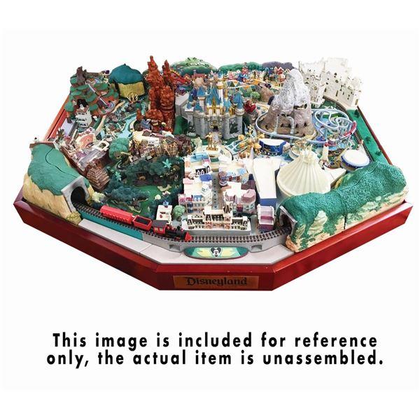 """My Disneyland"" Complete DeAgostini Park Model Set."