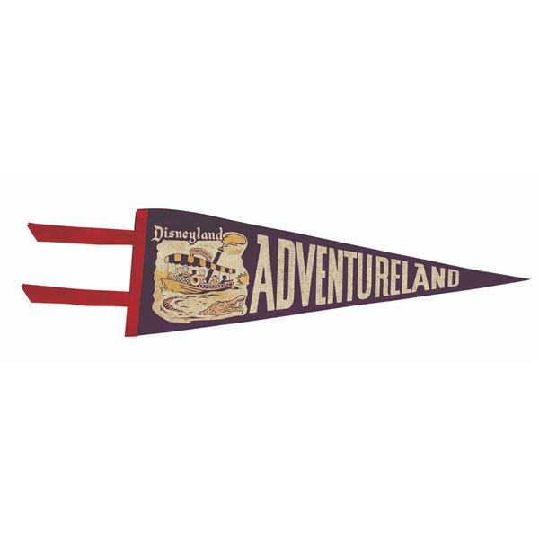 Disneyland Adventureland Pennant.