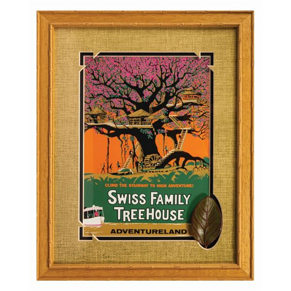 Swiss Family Robinson Treehouse Framed Prop Leaf.