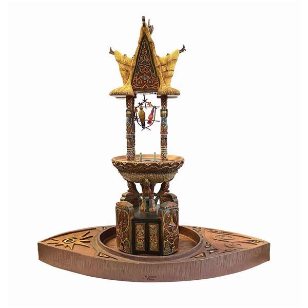 Enchanted Tiki Room Fountain.