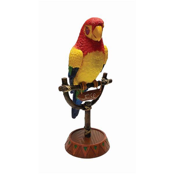 Enchanted Tiki Room Jose Tiki Bird Figure.