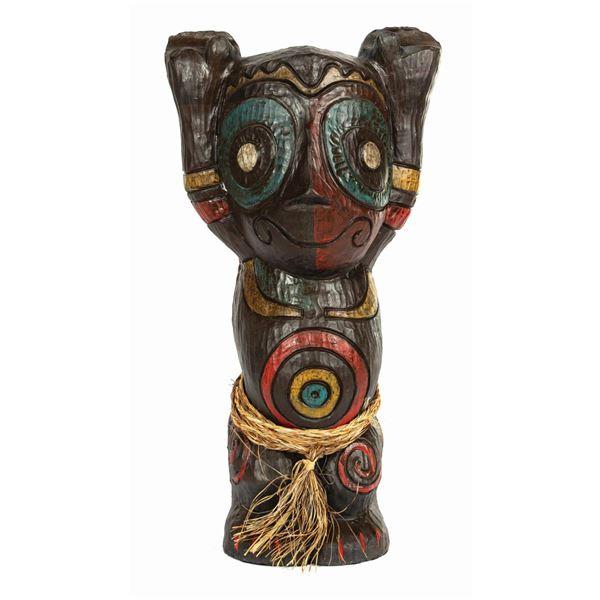 Large Tangaroa Baby Tiki Figure by Tiki Diablo.