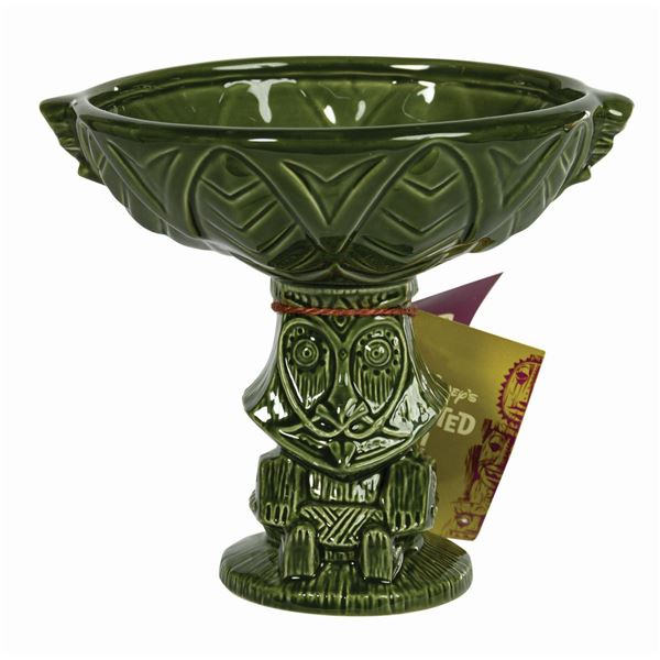 Enchanted Tiki Room Rongo Green Drink Bowl.