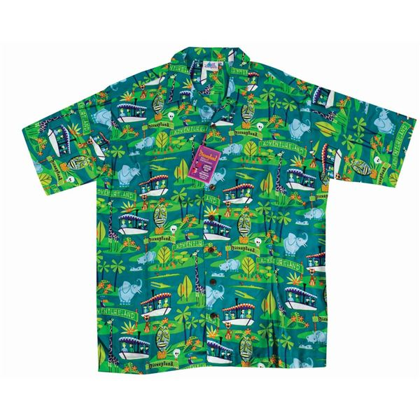 Shag Disneyland 50th Anniversary Jungle Cruise Shirt.