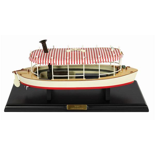 Jungle Cruise Boat Replica.
