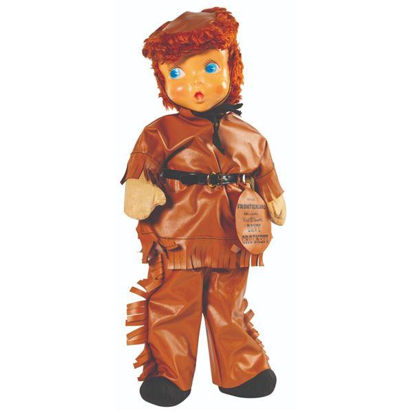 Gund Davy Crockett Frontierland Doll.