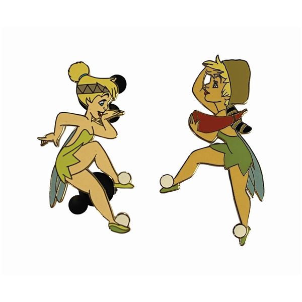 Pair of Tinker Bell Frontierland Pins.
