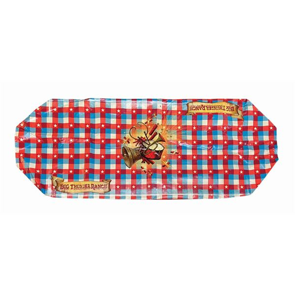 Big Thunder Ranch Independence Day Table Cover.