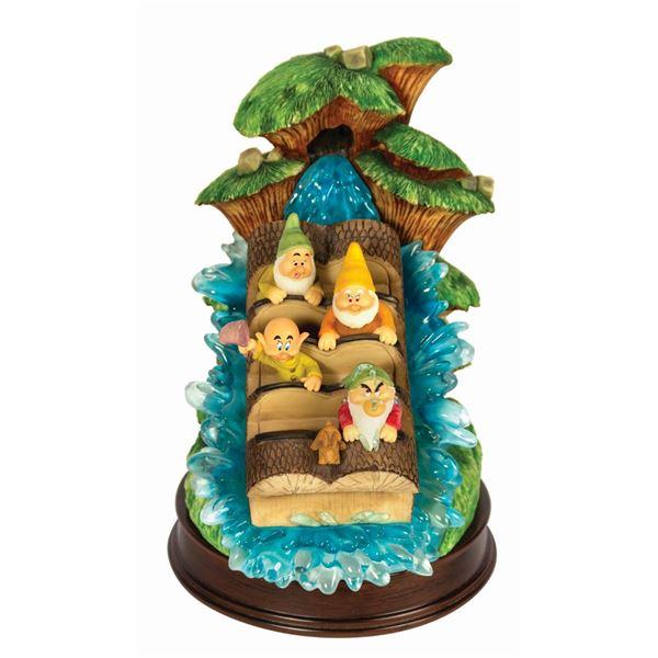 Dwarfs on Splash Mountain Figurine.