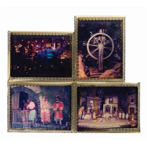 Set of (4) Pirates of the Caribbean Lenticulars.