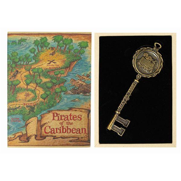 Pirates of the Caribbean Commemorative Key.