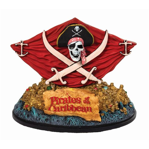 Pirates of the Caribbean Jolly Roger & Plunder Figure.