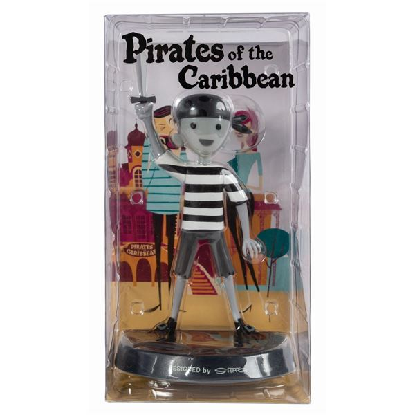 Shag Pirate Boy Black and White Variant Figure.
