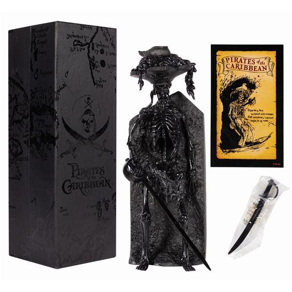 Pirates Bird Head Skeleton Black-Out Figure.
