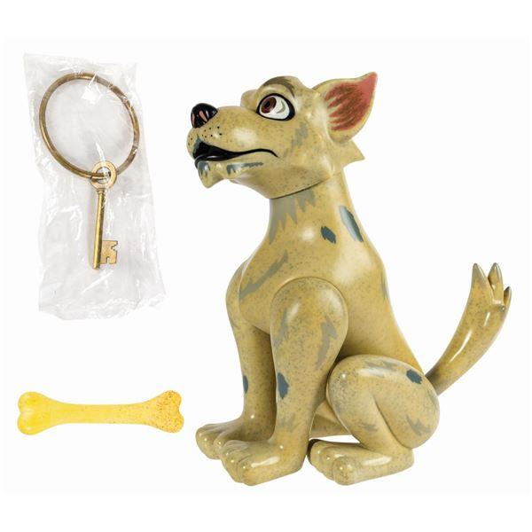 Pirates of the Caribbean Key Dog Figure.