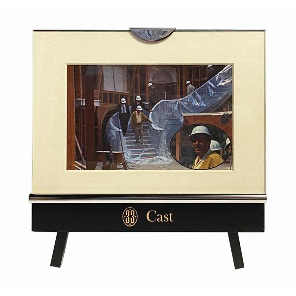 Walt Disney Framed Photo Club 33 Cast Member Gift.