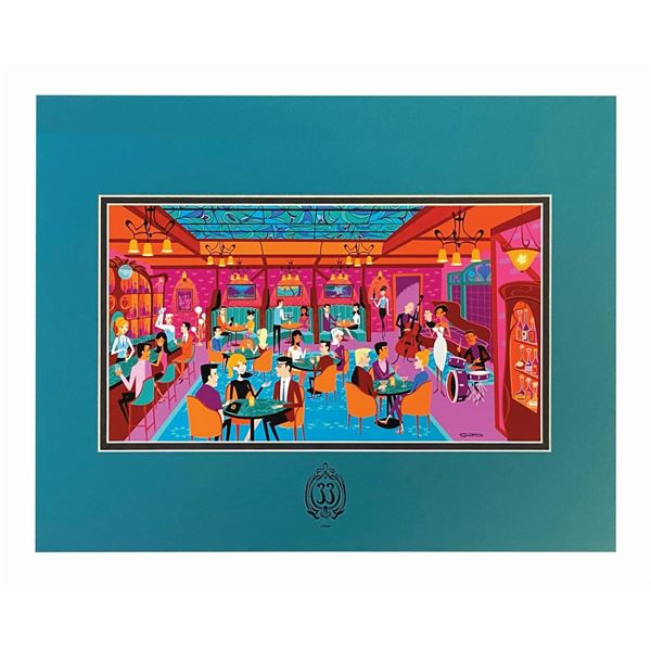 Shag  The Secret Salon  Club 33 Exclusive Print.