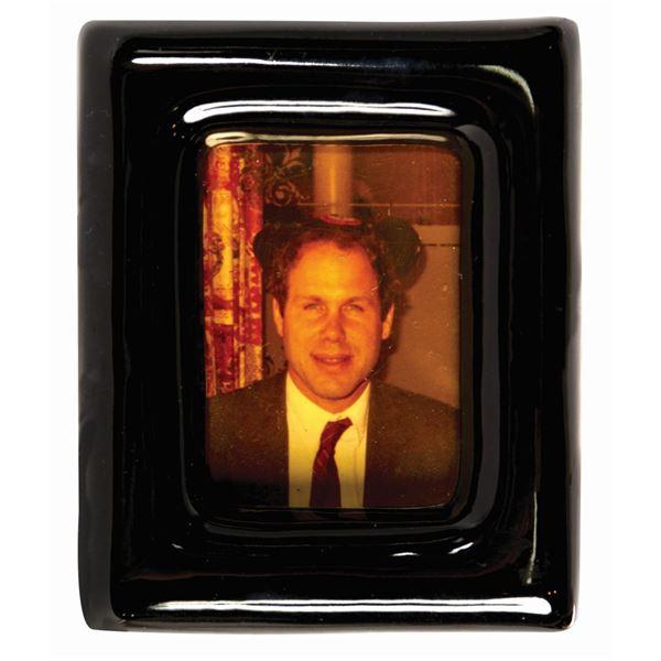 Club 33 Framed Michael Eisner Photo Table Gift.