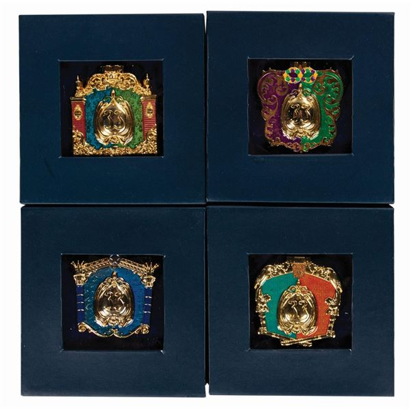 Collection of (4) Limited Edition Club 33 Pins.