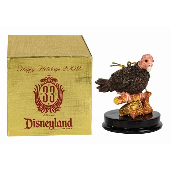 Club 33 California Turkey Vulture Christmas Ornament.