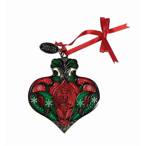 Club 33 Christmas Ornament.