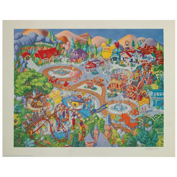 Charles Boyer Toontown Signed Artist's Proof.
