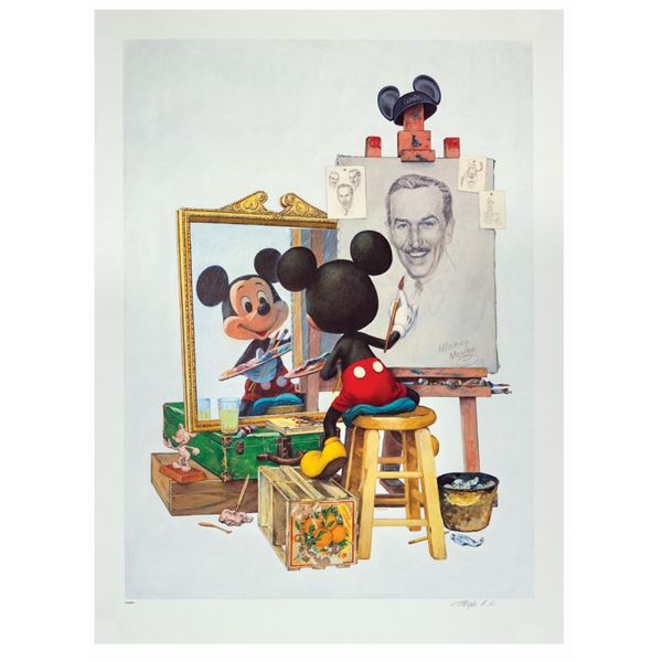 Charles Boyer Mickey Mouse Signed Artist's Proof.