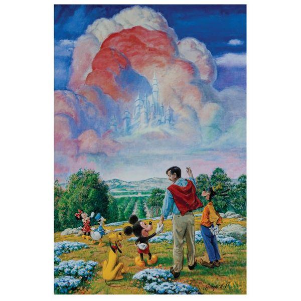 """Charles Boyer """"Walt's Dream"""" Signed Artist's Proof."""