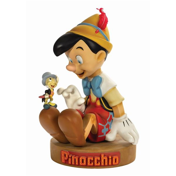 Pinocchio and Jiminy Cricket Big Fig Statue.