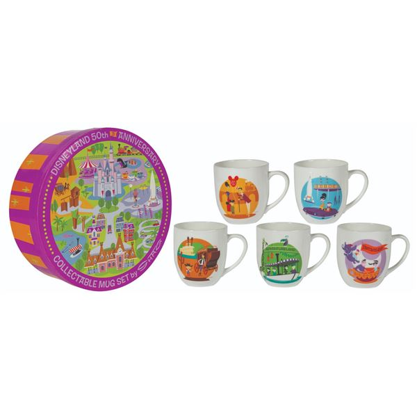 50th Anniversary Collectible Mug Set by Shag.