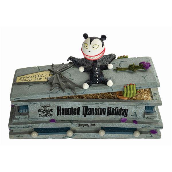 Scary Teddy on Coffin Bobble Head Figure.