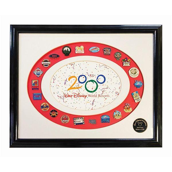 Walt Disney World Millennium Pin Set.