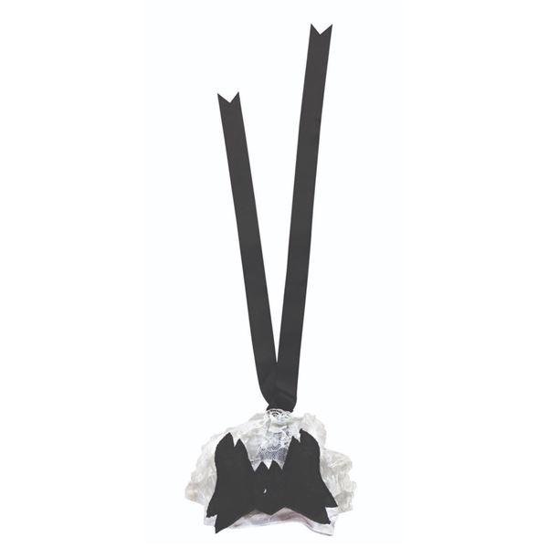 Haunted Mansion Cast Member Bat Bow.