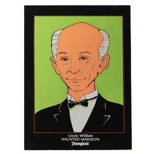 Haunted Mansion Uncle William Changing Portrait.