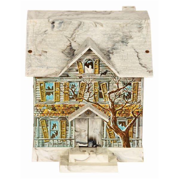 Haunted Mansion Electronic Tin Bank.