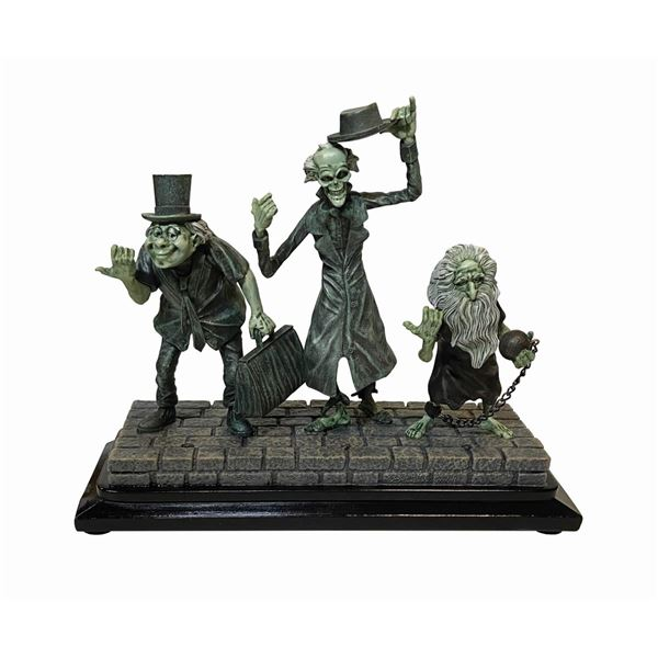Haunted Mansion Hitchhiking Ghosts Sculpture.
