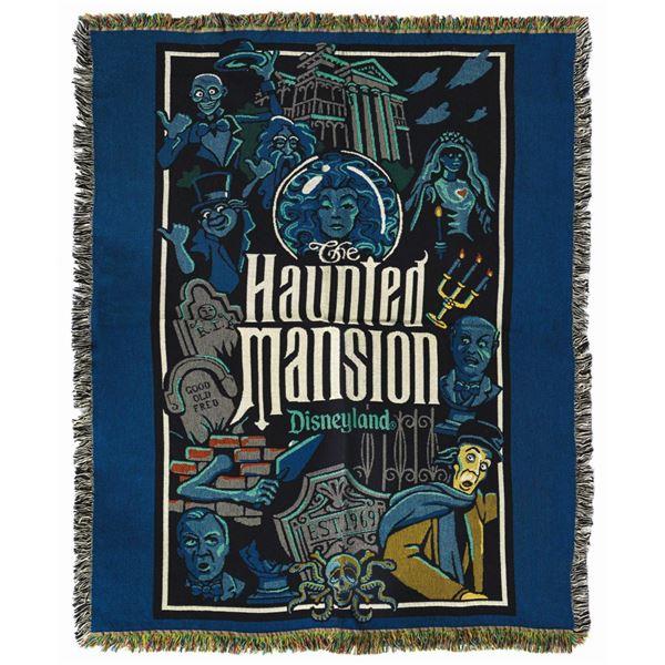 Haunted Mansion Throw Blanket.