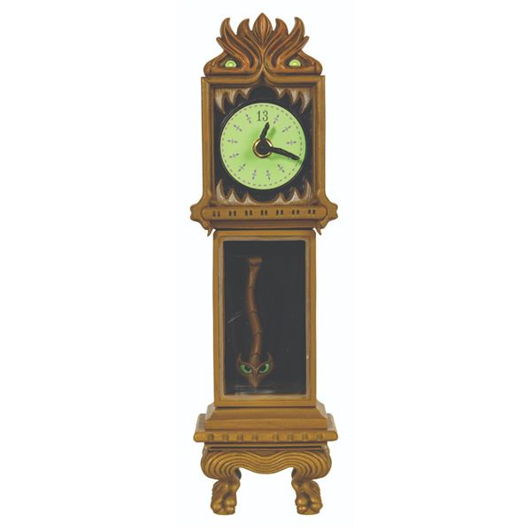 Haunted Mansion Clock Figure.