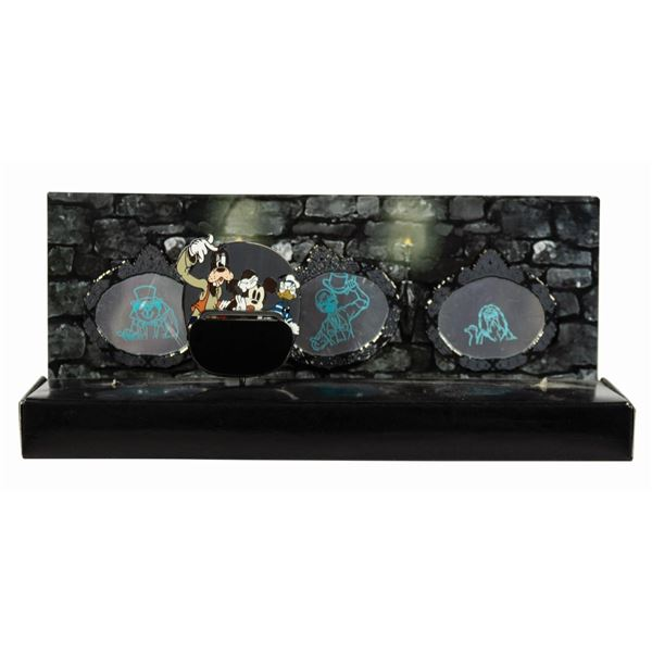 Haunted Mansion Haunted Attraction Collection Pin Set.